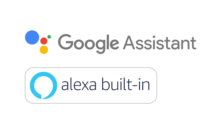 Google Assistant ve Alexa built-in logoları