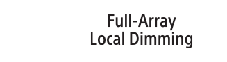 Full Array Local Dimming logosu