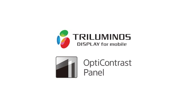 TRILUMINOS Ekran ve OptiContrast Panel logosu