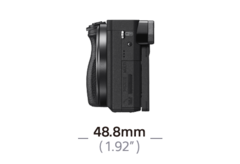 α6300 APS-C Sensörlü E mount fotoğraf makinesi ürününün fotoğrafı