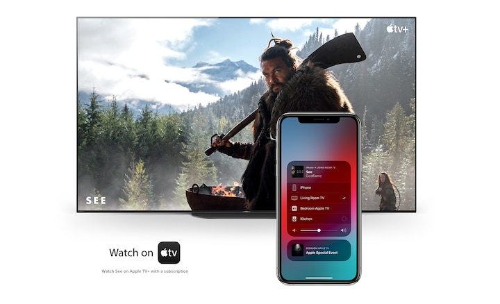 Apple AirPlay / Apple ile çalışır
