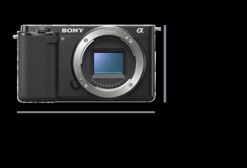 Fotoğraf makinesinin önden görünümü, Genişlik 115,2 mm (4 5/8 inç) ve Yükseklik 64,2 mm (2 5/8 inç)