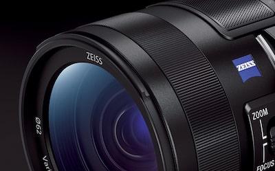 Zeiss Lensin kırpılmış yakın çekimi