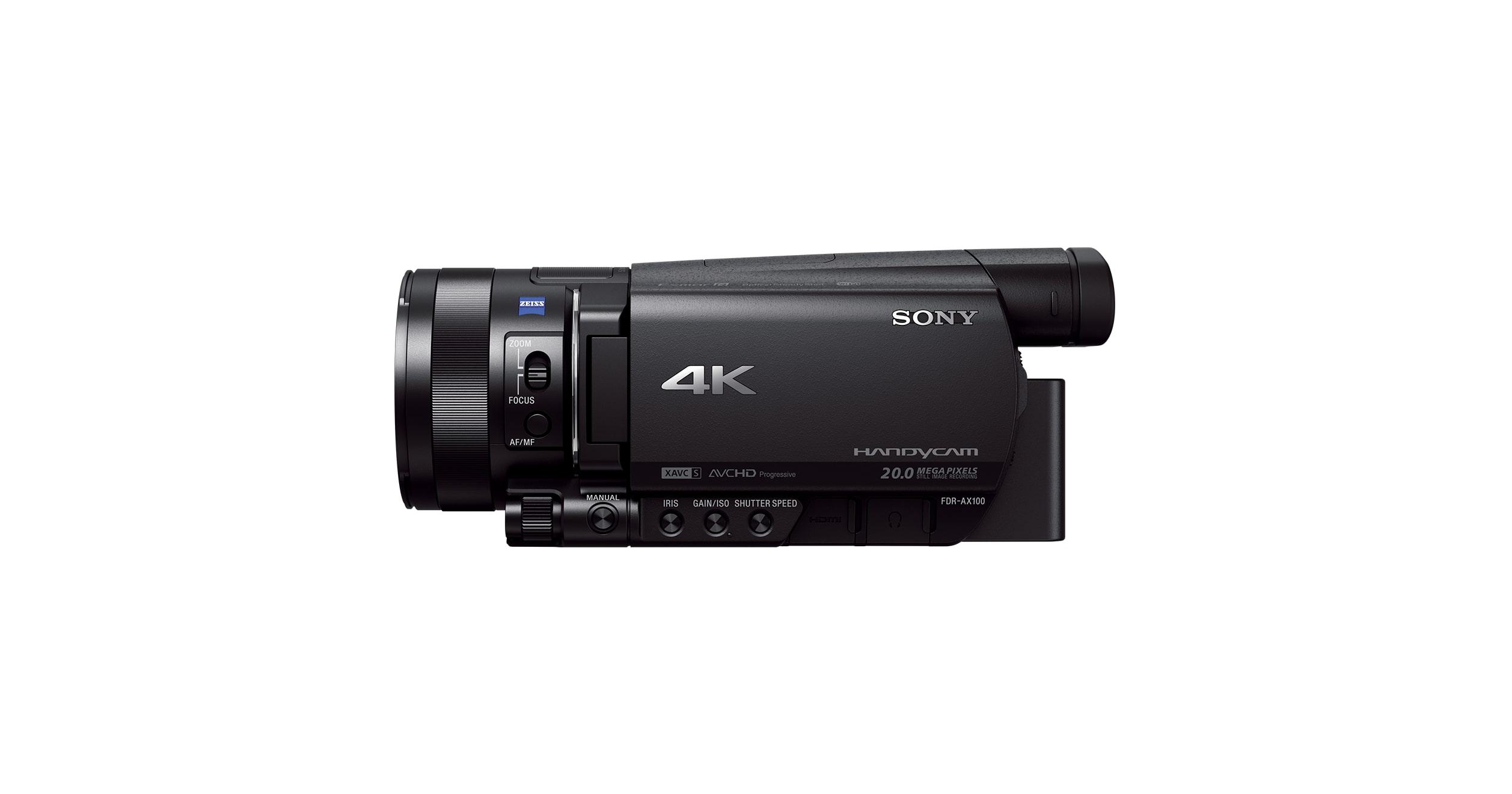 4k Video Camera >> 4k Video Kamera Tasinabilir Video Kamera Fdr Ax100e Sony Tr