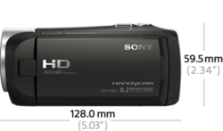 CX405 Exmor R® CMOS sensörlü Handycam® ürününün fotoğrafı