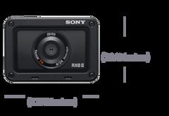 RX0 II premium ufak, sağlam fotoğraf makinesi ürününün fotoğrafı