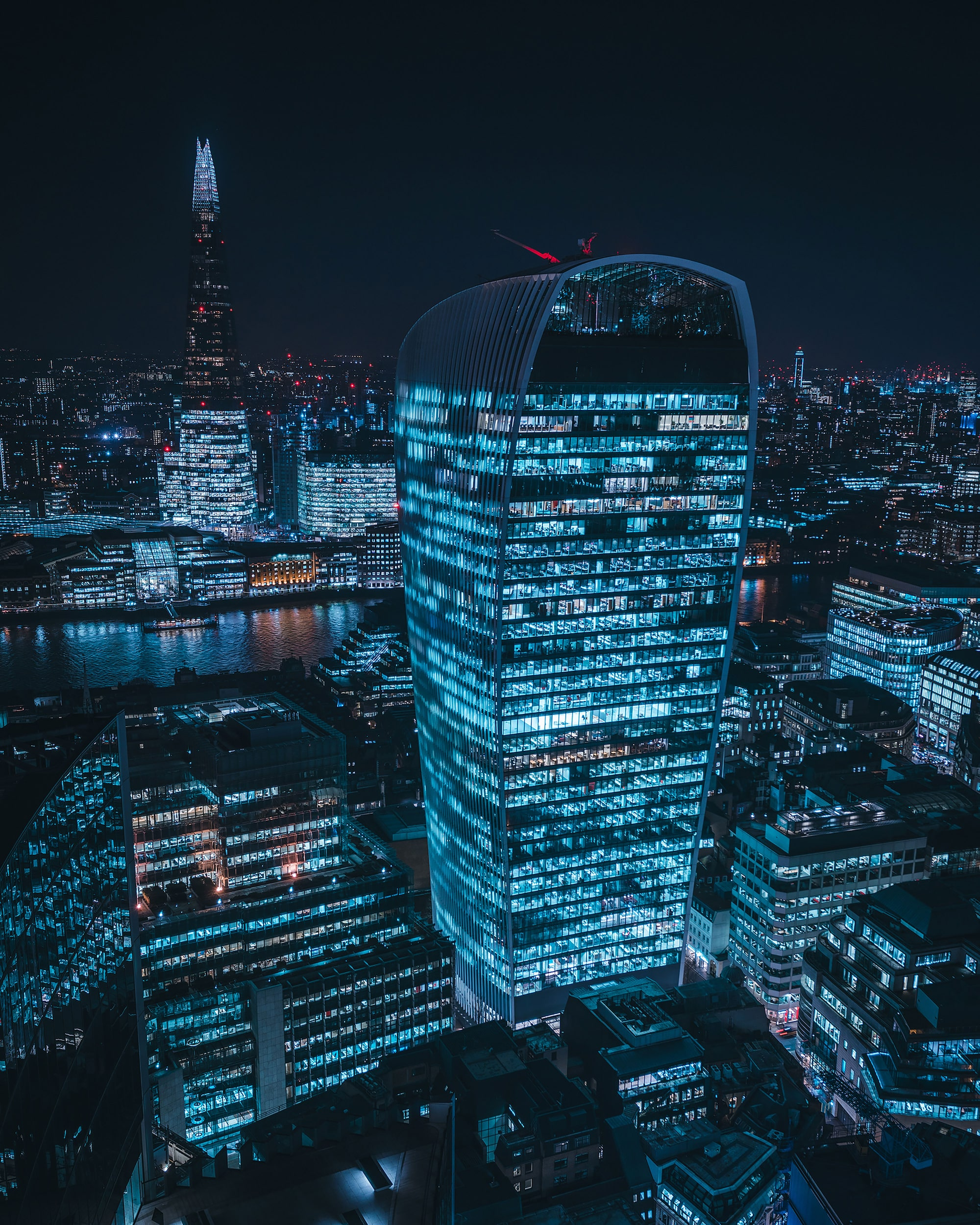 mike will sony alpha 7RIII 20 gece fenchurch binası