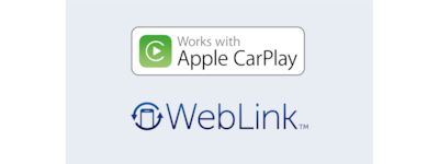 Apple CarPlay ve WebLink logoları