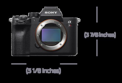 Lensin önden görünümü, Genişlik 95,4 mm (3 7/8 inç) ve Yükseklik 128,9 mm (5 1/8 inç)