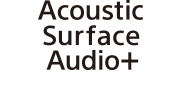 Acoustic Surface Audio+ logosu
