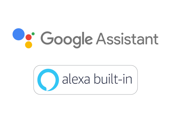 Google Asistan ve Amazon Alexa logoları