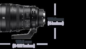FE PZ 28-135 mm F4 G OSS ürününün fotoğrafı