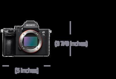 35 mm full frame görüntü sensörlü α7 III ürününün fotoğrafı