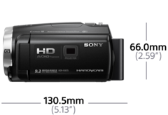 PJ675 Dahili Projektörlü Handycam® ürününün fotoğrafı