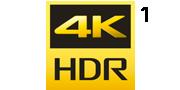 4K HDR logosu