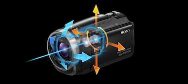 CX625 Exmor R® CMOS sensörlü Handycam® ürününün fotoğrafı