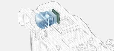 α6400 APS-C Sensörlü E mount fotoğraf makinesi ürününün fotoğrafı